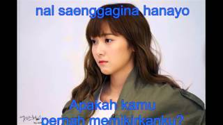 [INDO SUB] OST Dating Agency Cyrano Jessica   That One Person