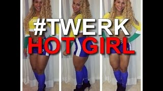 BRAZILIAN TWERK  exotic dance | Black Girl | FUNK