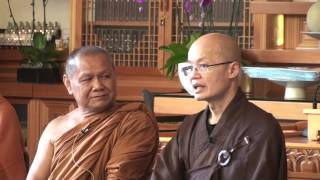 Thai Forest Meditation with Ajaan Samruay, Chan Master YongHua and MyoKyong Sunim 10/2/16