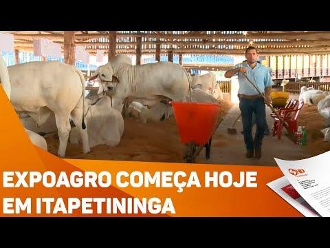 Expoagro começa hoje em Itapetininga - TV SOROCABA/SBT