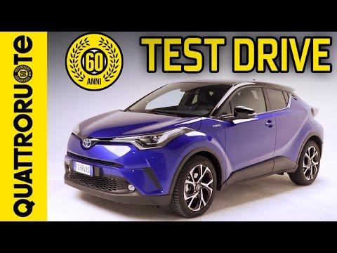 Nuova Toyota C-HR - Test drive completo   Quattroruote