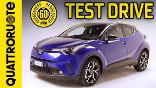 Nuova Toyota C-HR - Test drive completo | Quattroruote