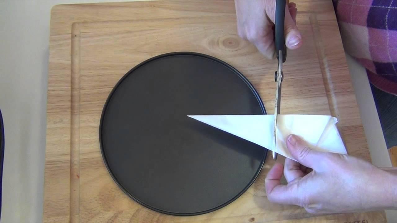 How To Line A Circular Cake Tin