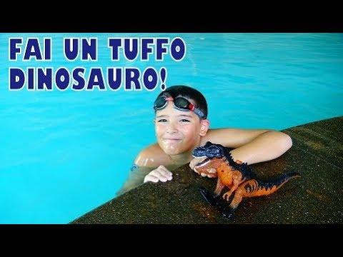 TUFFATI DINOSAURO! - Leonardo D