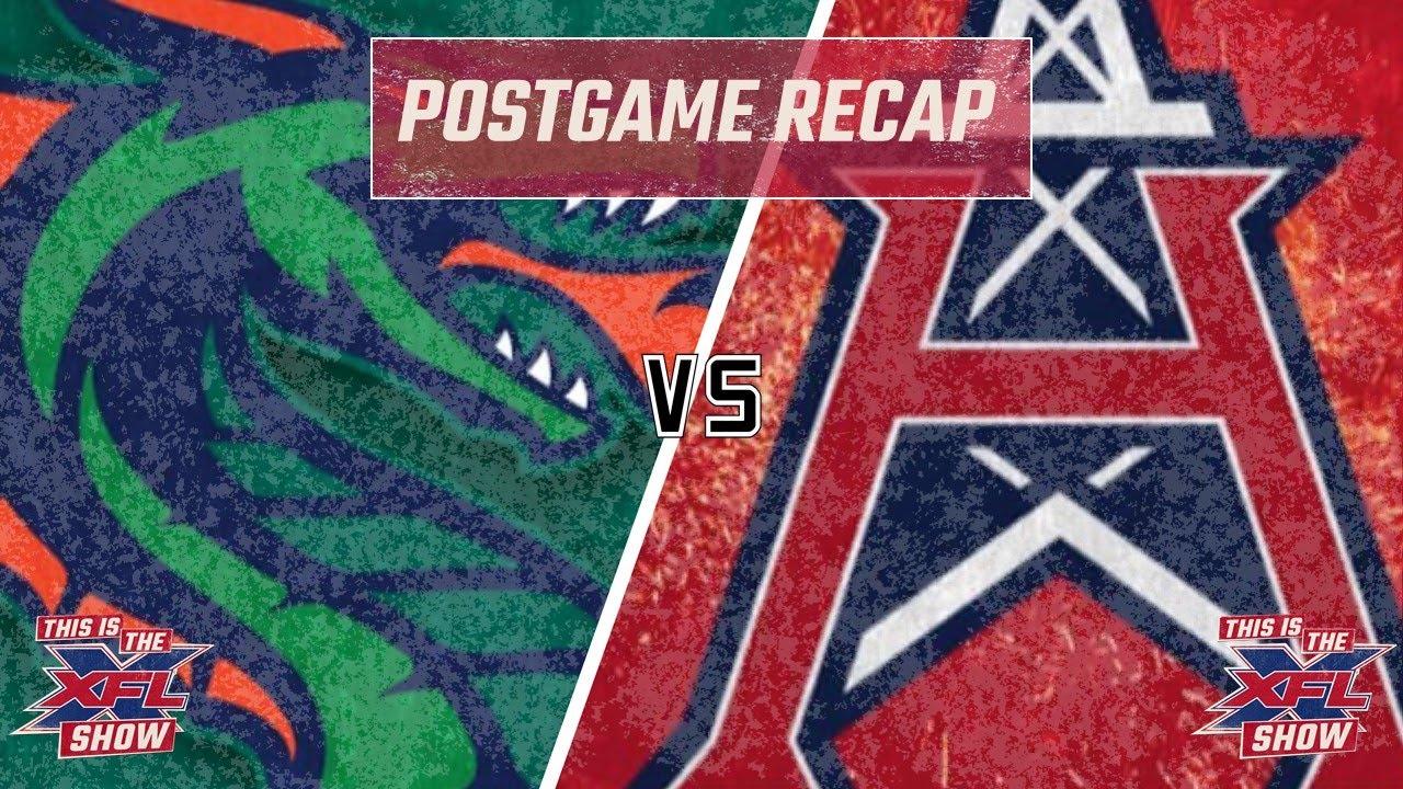 This is the XFL Show | Week 5 Recap: Roughnecks vs. Dragons