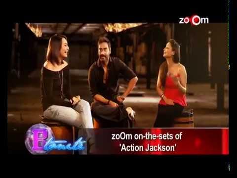 Ajay Devgn & Sonakshi Sinha's EXCLUSIVE Interview   Action Jackson Movie