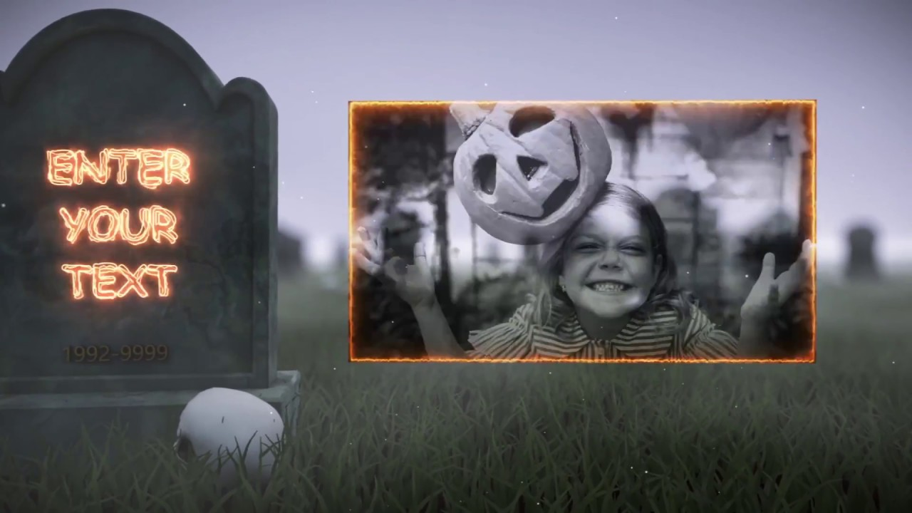 halloween gravestones template to make creepy halloween videos youtube