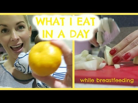 WHAT I EAT IN A DAY WHILE BREASTFEEDING AND LOSING BABY WEIGHT