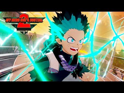 My Hero One's Justice 2 - Deku vs Overhaul Gameplay - PS4/XB1/PC/Switch
