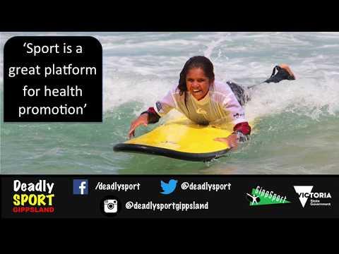 Deadly Sport Gippsland - Program presentation