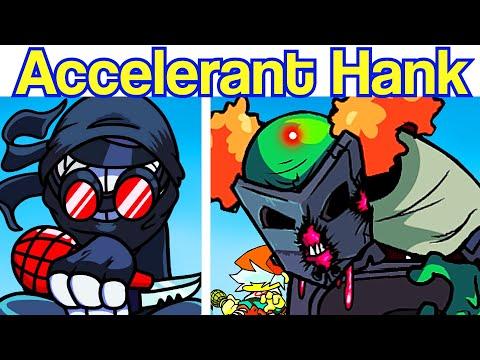 Friday Night Funkin' VS Accelerant Hank (ft. Tricky, Deimos, Sanford) [Madness Combat Mod/HARD]