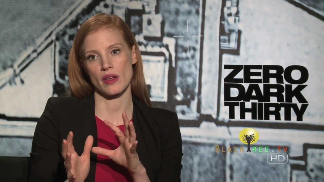 OSCAR NOMINEE: Jessica Chastain talks Zero Dark Thirty & working with ...