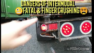 😵THE DANGERS OF INTERMODAL, 4 SWIFT, CR ENGLAND, KNIGHTS, HUB GROUP. ext Video