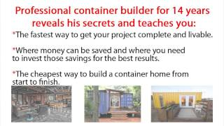 Container Home Making: How To Build Shipping Container Home Diy