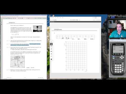 Examentraining VMBO Wiskunde (2015 tijdvak 2 Opgave 1 tot en met 4)