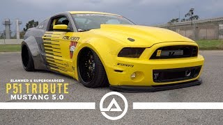 Slammed & Supercharged Widebody Mustang 5.0 GT