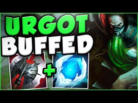 Download Youtube: THESE NEW URGOT BUFFS MAKE HIM THE NEW KING OF TOP! NEW BUFFED URGOT TOP GAMEPLAY! League of Legends