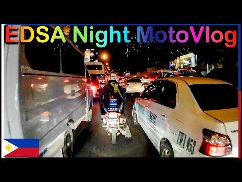 EDSA Night Ride - Lost Again - Bike Meet Up