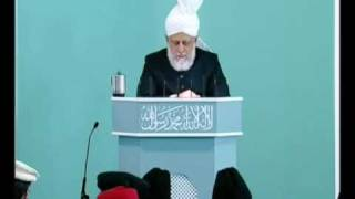 Friday Sermon: 22nd October 2010 - Part 6 (Urdu)