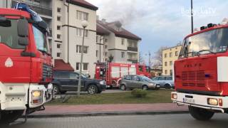 2017.03.17 pożar przy ul. Abrahama