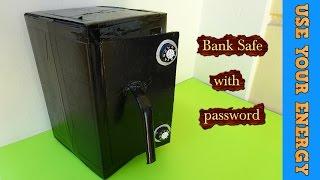 How to make a Piggy Bank Safe!