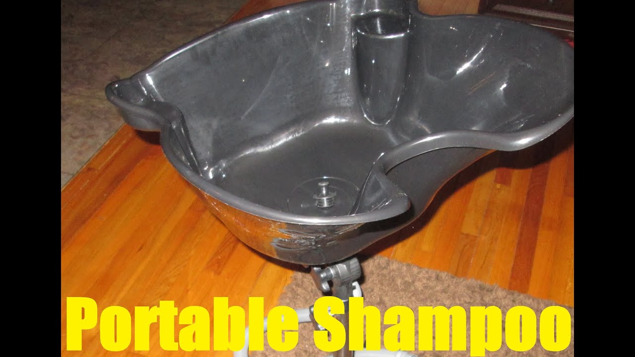 Portable Shampoo Bowl Setup Youtube