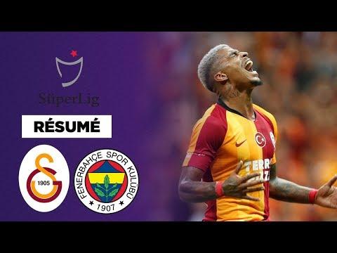 Résumé : Galatasaray et Fenerbahçe dos à dos dans le derby