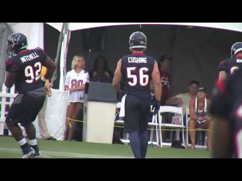 2013 Houston Texans Training Camp - Brian Cushing