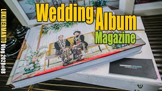 WEDDING ALBUM  atau Album Magazine  [Vlog 2020#08] Tutorial Wedding photography