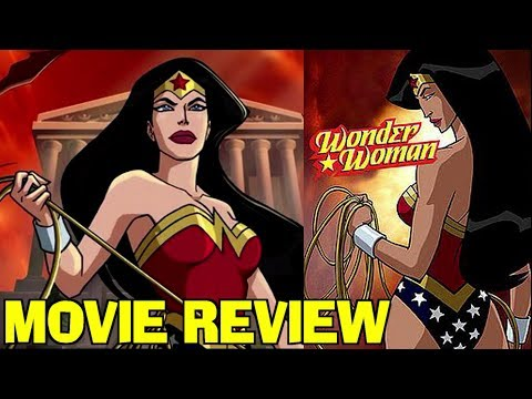 WONDER WOMAN (2009) - animated movie review