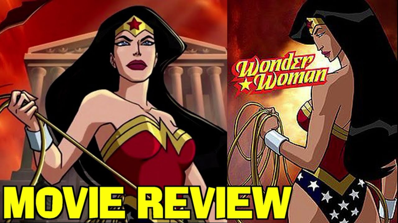 wonder woman 2009 animated movie review youtube