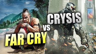 CRYSIS HATAYI NEREDE YAPTI?! (FAR CRY vs CRYSIS)