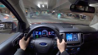 2019 Ford Ranger Supercab 4x4 Lariat 6' Box - POV Night Drive
