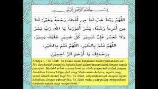 Doa permudah Segala Urusan