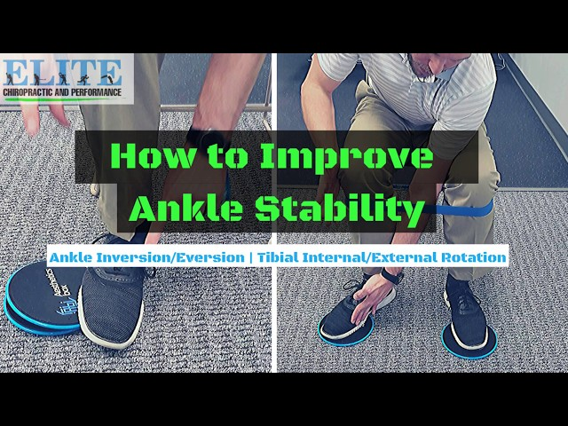 🦶How to Improve Ankle Stability with Isolated Ankle Movements