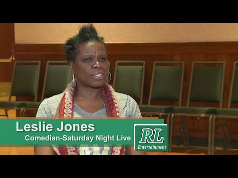 Full Interview with Leslie Jones from 'Saturday Night Live'