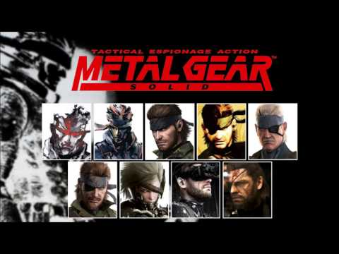 Metal Gear Solid - All Main Themes