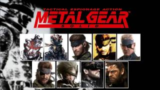 Repeat youtube video Metal Gear Solid - All Main Themes