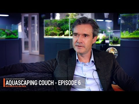AQUASCAPING COUCH Ep. 6 - INTERVIEW WITH TROPICA CEO, LARS GREEN