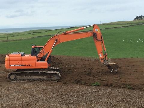 Digger work 2017