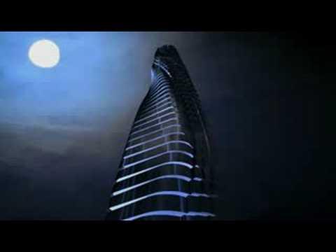מגדל בדובאי עם קומות זזות