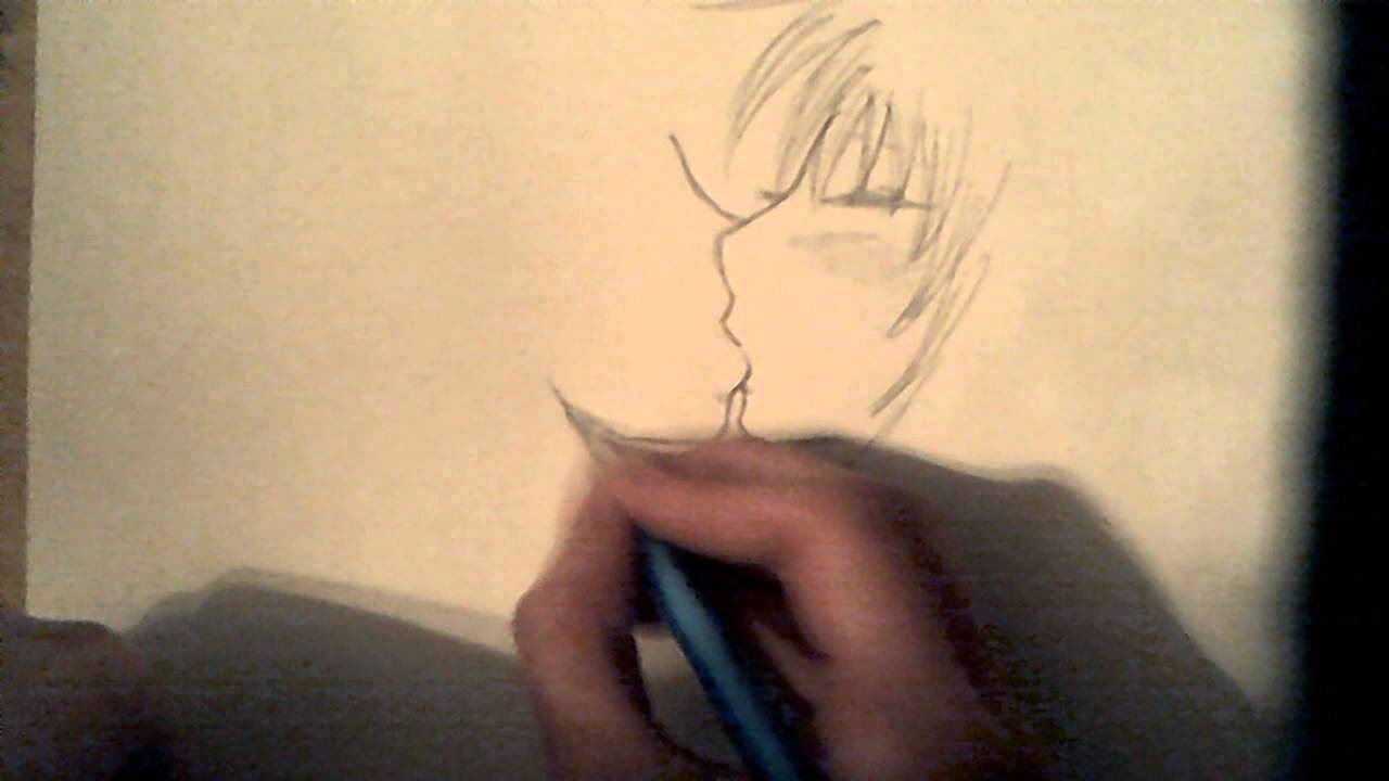 How to draw anime people kissing step by step for beginners youtube