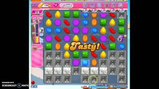 Candy Crush Level 1466 help w/audio tips, hints, tricks
