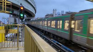 Osaka Metro中央線24系3編成発車シーン