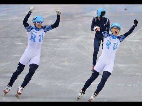 Российские шорт-трекисты стали обладателями золота и серебра на сочинской Олимпиаде!