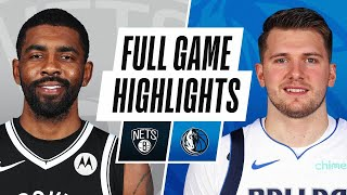 GAME RECAP: Mavericks 113, Nets 109