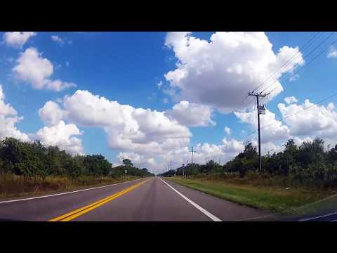 Driving from Naples to Homestead-Miami Speedway