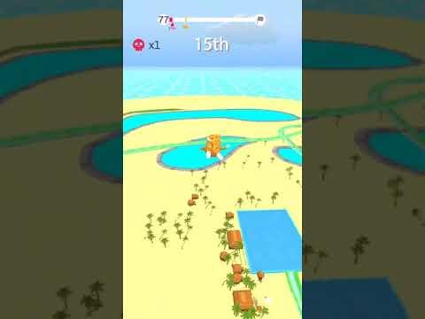 Free Aquapark.io app on IOS and Android