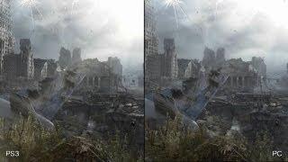 Metro Last Light: PS3 vs. PC Comparison