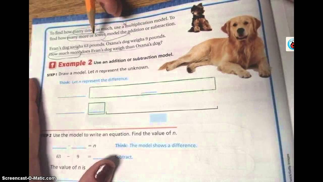 Go Math Lesson 22 Youtube